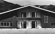 Former Akinomiya Village Office (former village of Akinomiya, Ogachi District, Akita Prefecture; now Yuzawa City, Akita Prefecture; 1951)
